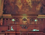 Sixth Circuit courtroom