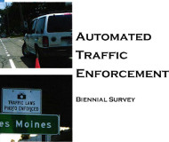 Iowa automated enforcemetn report cover