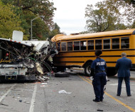 Baltimore bus crash