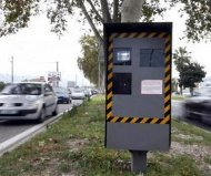 Belgian speed camera