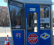 Delaware toll booth