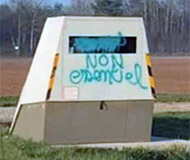 Non essential speed camera
