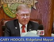Mayor Gary Hodges