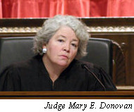 Judge Mary E. Donovan