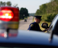Traffic stop in Michigan