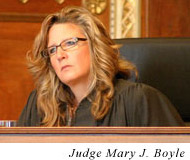 Judge Mary J. Boyle