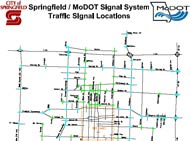 Intersection map, Springfield