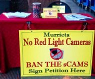 Murrieta red light camera ban