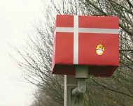 Giftwrapped speed camera