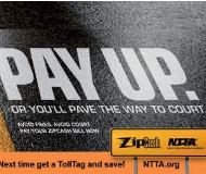 NTTA Pay Up logo