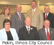 Pekin, Illinois City Council