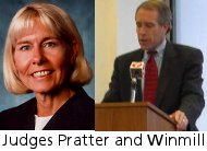 Judges Pratter and Winmill