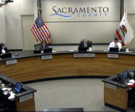 Sacramento County board of supervisors