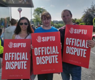 SIPTU strike