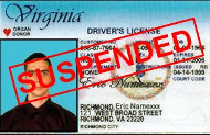 Virginia suspended license
