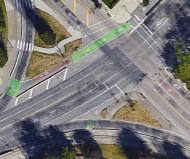 Vancouver intersection