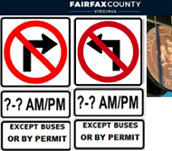 Fairfax County turn ban