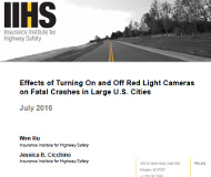 IIHS report cover