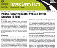 NHTSA report cover